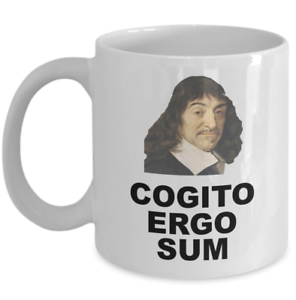 Philosophy Student Teacher Mug Cogito Ergo Sum Rene Descartes Philosopher Gift Ebay