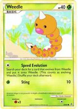 Unleashed 50//95 4x Larvitar Common NM-Mint Pokemon HGSS