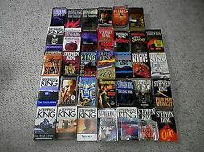 HUGE Lot of 34 Paperback Books by Stephen King - FREE SHIPPING !!