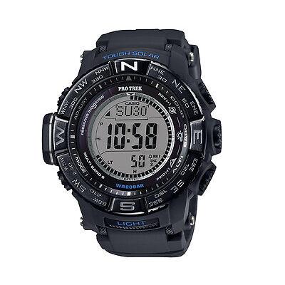 Casio Men's 56mm PRO TREK PRW3510Y-1D Triple Sensor 3rd Version Sports Watch - B