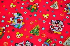 DISNEY MICKEY MOUSE USA Designerstoff WEIHNACHTEN MINNIE MOUSE CHRISTMAS