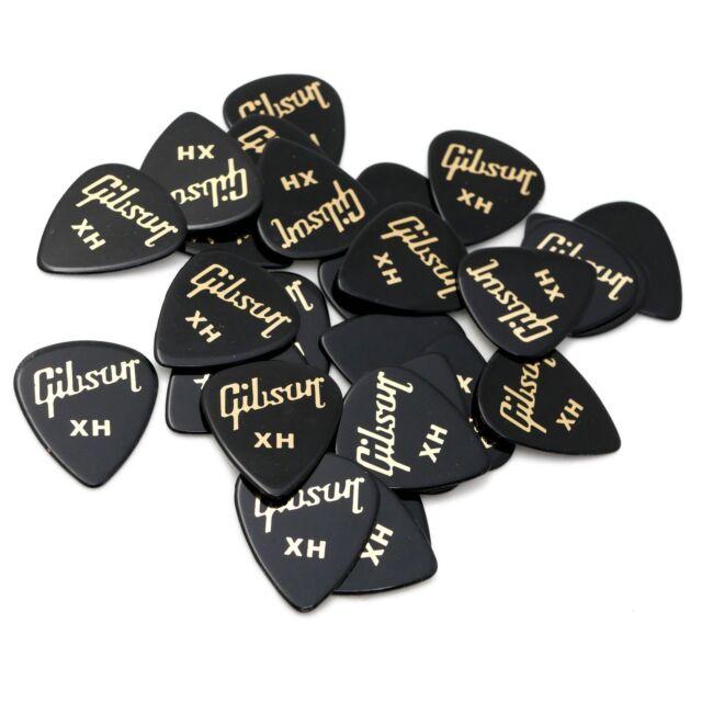 Plektrum Standard Extra Heavy Pick Tin 50 Standard Picks Gibson