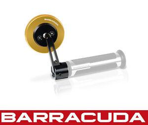 Universal Fit Barracuda Triumph Street Triple Bar Ends Gold