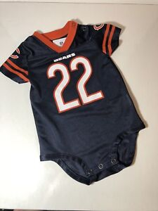 Details about Chicago Bears Baby #22 Forte NFL Football Jersey Snap Down Infant 6 /9 months