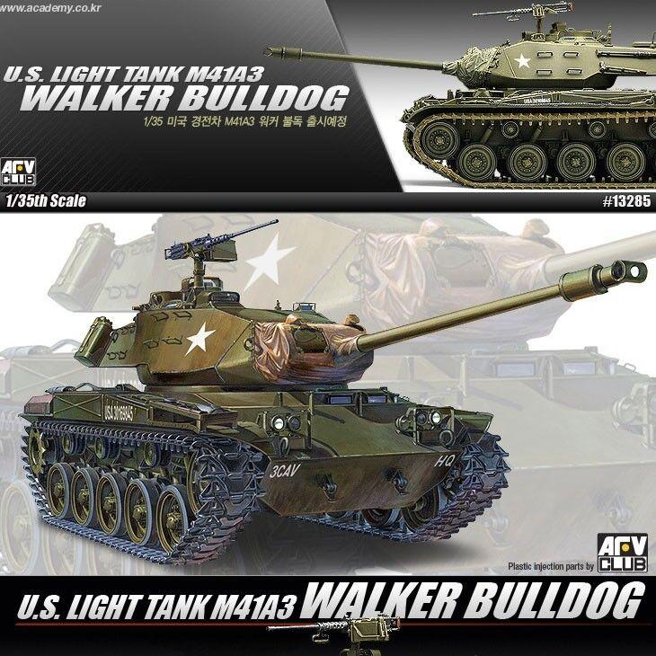 1 35 U.S. LIGHT TANK M41A3 WALKER BULLDOG ACADEMY