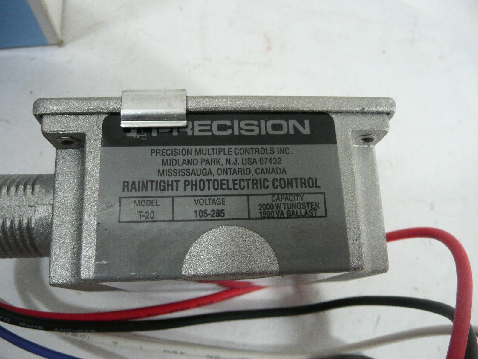 Lumatrol Multiple Photo control sensors P7-275 for 480VAC Lot of 6 Precison