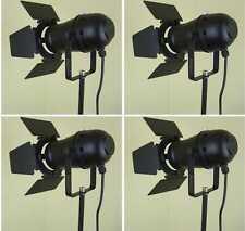 4x PAR-30 Spot-Scheinwerfer Schwarz incl. Torblende Flügelbegrenzer, E27 Fassung
