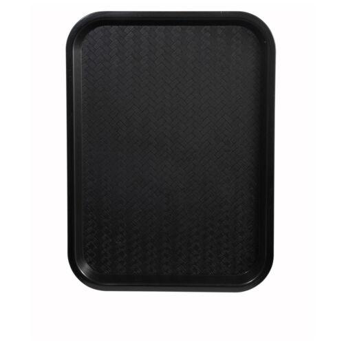 Winco FFT-1418K 14x18-Inch Black Plastic Fast Food Tray