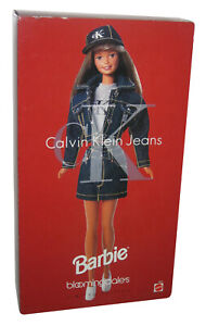 Barbie-Bloomingdale-039-s-Limited-Edition-Calvin-Klein-1996-Mattel-Toy-Doll