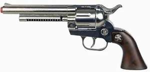 Faschings-Revolver-Cowboy-12-Schuss-Western-Pistole-Karneval-Soldat