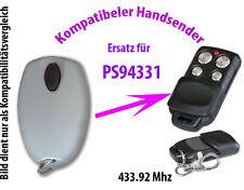 433 Mhz Handsender Fernbedienung kompatibel zu Homentry PS94331 PS94330
