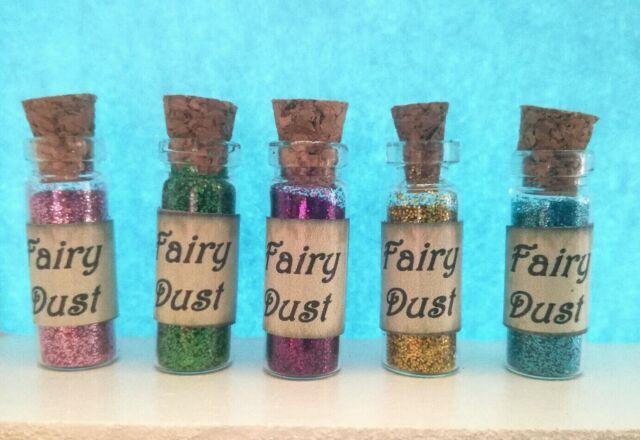 Fairy dust bottles favour Party Bag