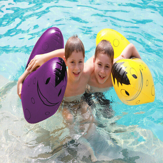 Pool Pony TWIN PACK - Water Toy - Inflatable Retro Ride on Water Pony