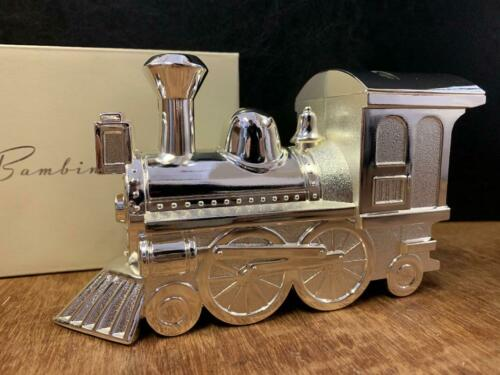Silver Plated Christening Money Box Baby Boy Keepsake Present Christening Gift