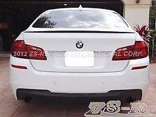 BMW F10 Carbon Fiber 5-Series 4D Saloon Boot Lip Spoiler Wing 2010-16 UK SELLER