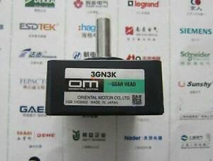 3GN3K ORIENTAL MOTOR GEAR HEAD New