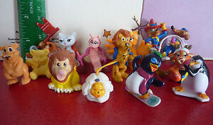 Special-Lot-of-15-PVC-Toys-Miscellaneous-Lot-from-Kinder-or-Else