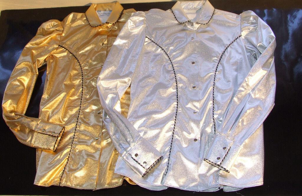 Ladies Western Shirt Retro Vintage    New    Karman   16A