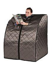 HeatWave Rejuvenator Portable Sauna w/ Carbon Fiber Infrared Heater Panels