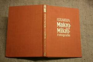 Fachbuch-Exakta-Fototechnik-Makrofotografie-Mikrofotografie-DDR-1956