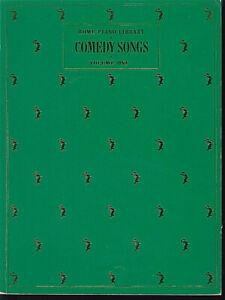 Antiquarische Noten/songbooks 1 Comedy Songs Vol