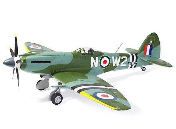 RC Durafly Supermarine Spitfire Mk24 V2 w  Retracts Flaps Nav Lights 1100mm PNF