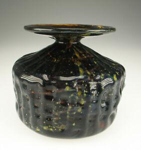 Mdina-Malta-Michael-Harris-Glas-Vase-1970s-space-age-glass-art-glass