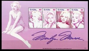 Saint-christophe - 2007 Marilyn Monroe Cinéma Film Musique Chanteuse Actrice 946-49 Neuf Sans Charnière Promouvoir La Santé Et GuéRir Les Maladies