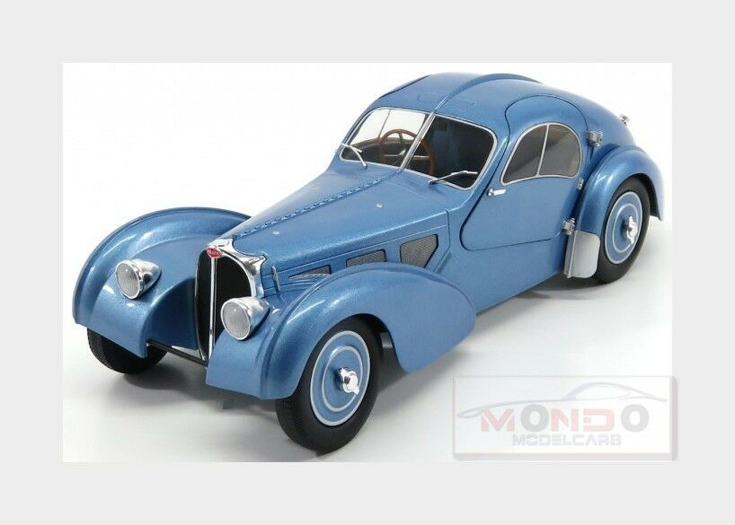 Bugatti Type 57Sc Atlantic 1938 bleu SOLIDO 1 18 SL1802102