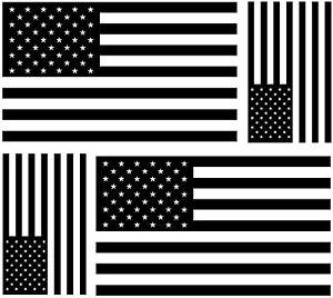 Details Zu 4x Sticker Aufkleber Auto Weiß Schwarz Usa Flagge Vereinigte Staaten Amerika