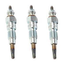 3 New Glow Plugs Fits Kubota B5200 B7001 B7100 L2202 L2402 15521 65510