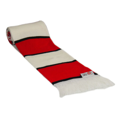 fan originals Retro Football Bar Scarf Manchester United Colours Red White Black