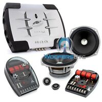 Pkg Jl Audio Zr525-csi 5.25 Component Speakers + Phoenix Gold X100.2 Amplifier