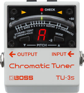 Boss TU-3 Chromatic Tuner Pedal FREE PRIORITY SHIPPING