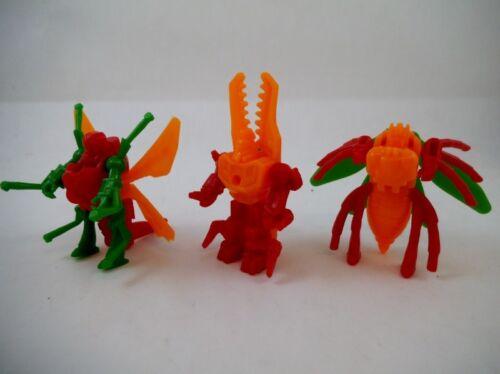 Takara Japan KO Transformers Plastic Insecticon Set of 3 Convertors Diaclone
