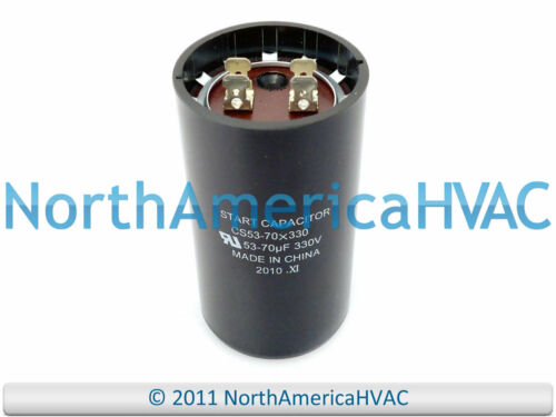 NEW Motor Start Capacitor 53-70 MFD 330 VAC Volt Supco CS53-70X330