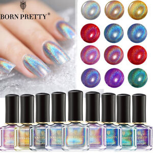 Holographic-Nail-Polish-Holo-Glitter-Laser-Rainbow-Hologram-Varnish-Born-Pretty