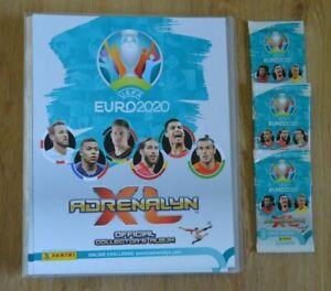 Panini-Adrenalyn-XL-Uefa-Euro-EM-2020-3-Booster-Sammelmappe-Sammelordner