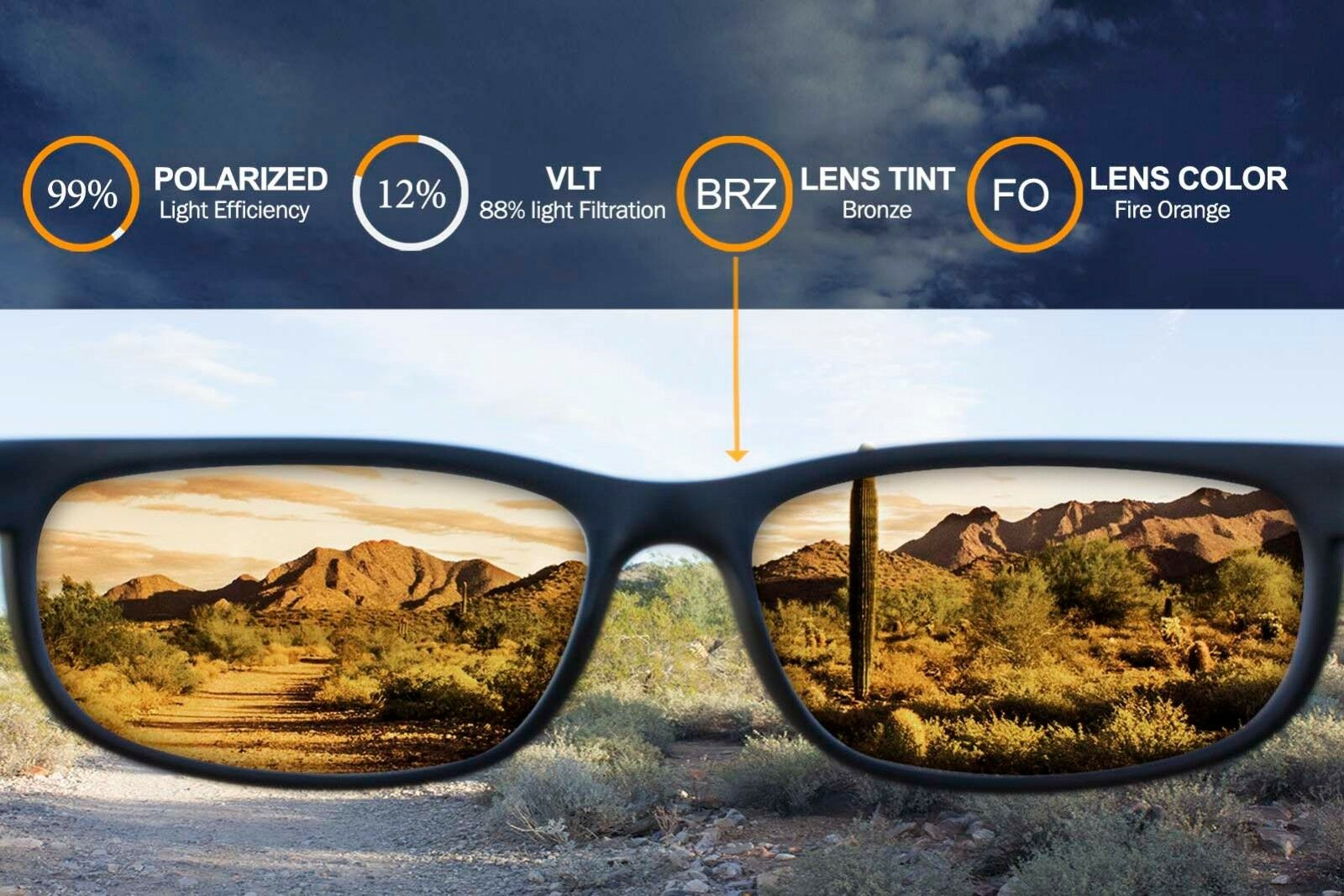 a32e8f4a2a Polarized Ikon Replacement Lenses for Ray Ban Rb4165 Justin 54mm - Fire  Orange