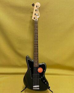 037-8501-569 Squier Affinity Series Jaguar Bass H Charcoal Frost Metallic