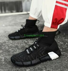 Fashion-Speed-Trainer-Atheletic-Sneaker-Unisex-size-36-44-black-3