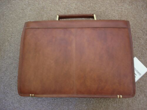 Leather Gussett Davidt's Leather 2 Briefcase RxZx5qSwp