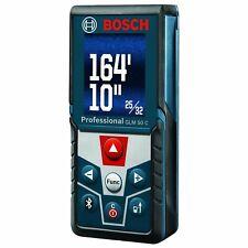 Bosch Glm50 C Bluetooth Enabled Laser Distance Measurer With Color Backlit Display