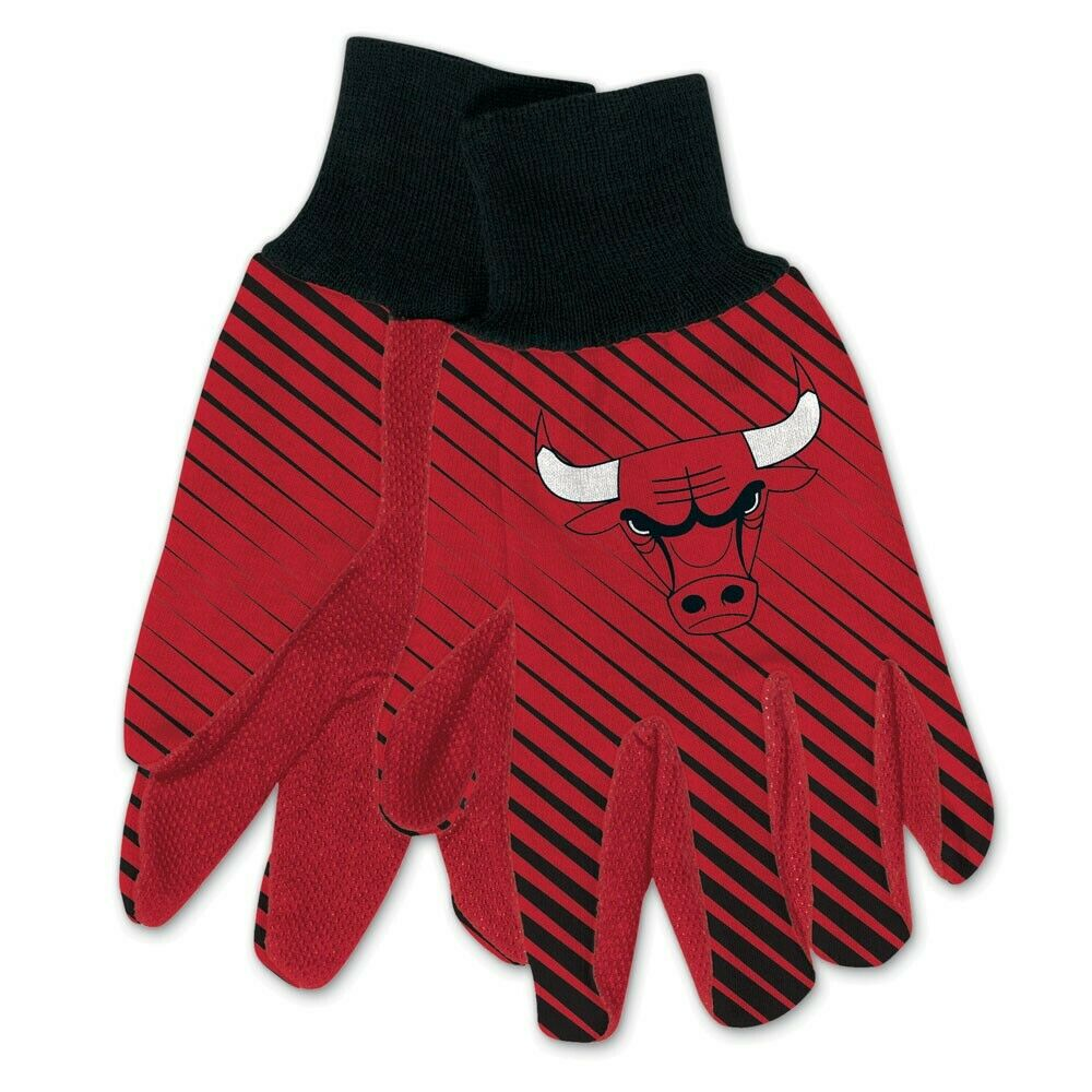 Chicago Bulls Adult Two Tone Gloves
