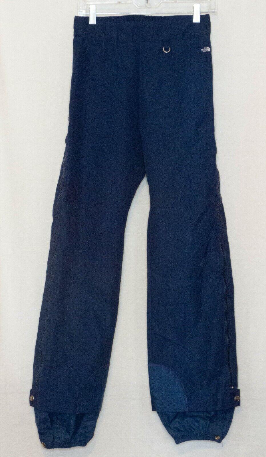 7aa399d62 North Face Gore Tex Ski Snowboard Pants Unisex sz S Navy Side Zippers both  Legs