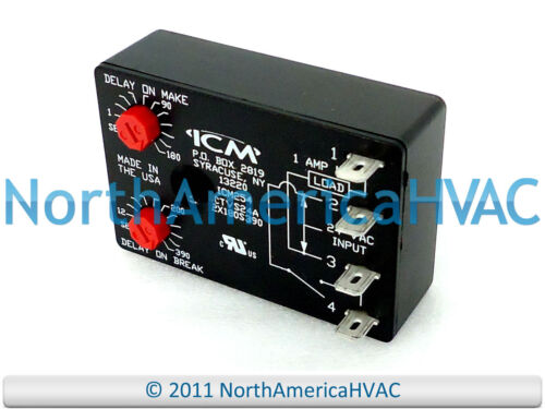 USA Univrsl Post Purge Fan Delay CTVS24A ICM254 ICM254B