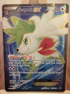 Shaymin-EX-Roaring-Skies-106-108-Full-Art-Ultra-Rare-New-Pokemon-Card