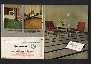 Fußbodenbelag Gummi ~ Hannover prospekte 1956 gummiwerke ag continental gummi fußboden