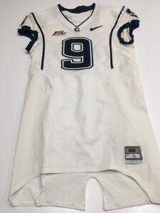 Image is loading Game-Worn-Used-UConn-Huskies-Connecticut-Football-Jersey- 384247f02