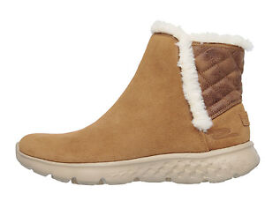 Skechers Skechers Skechers NEW on the go 400 cozies chestnut memory foam ankle Stiefel 5d5677